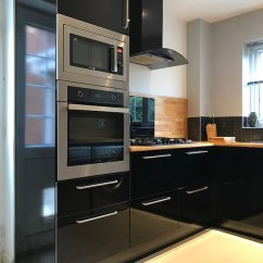 Kitchen Pantry Storage Cabinets Hinges Replacement Black High Gloss With Slimline Pantry. - City