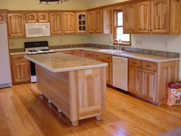 Laminate kitchen counter top
