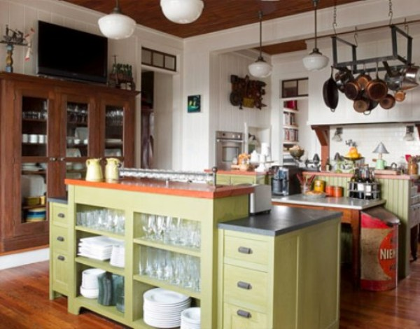 Old-Fashioned Kitchen