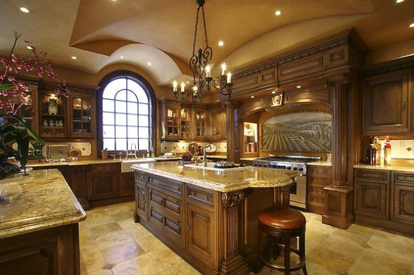 Southern traditional kitchen