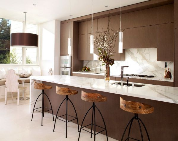 path of a modern kitchen (4)