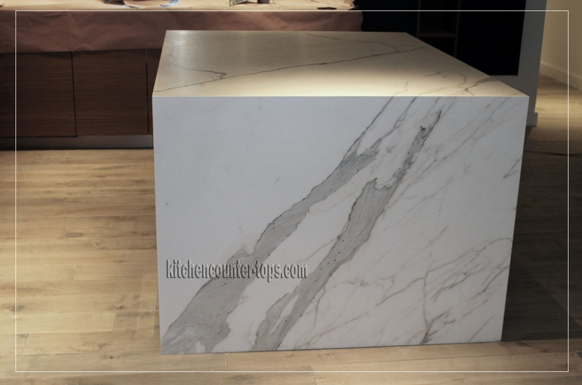 Kitchen Countertop Styles And Trends U2013 Calacatta Marble