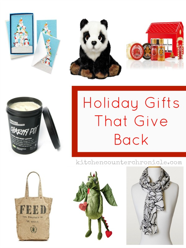 holiday giving gifts that