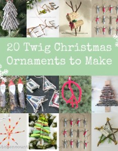Twig christmas ornamentsg also ornaments to make rh kitchencounterchronicle