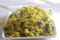 Turmeric Spinach Rice - Kitchen Coup