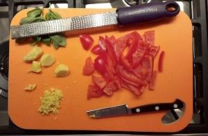 Putenroulade mit Mango-Chutney 2