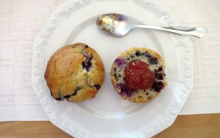 Blueberry Scones Fingerfood
