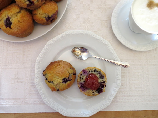 Blueberry Scones zum Muttertag