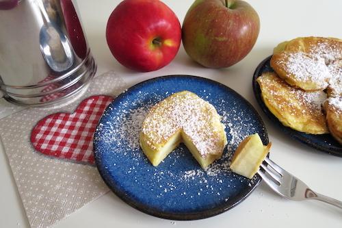 winterliche Apfelküchlein Dessert