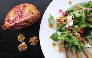 Wintergerichte Granatapfelsalat