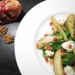 Granatapfel-Salat mit karamellisierten Birnen_3