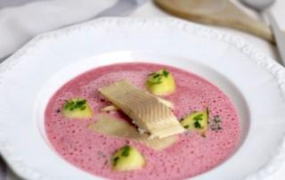 Wintergerichte Rote-Bete Suppe