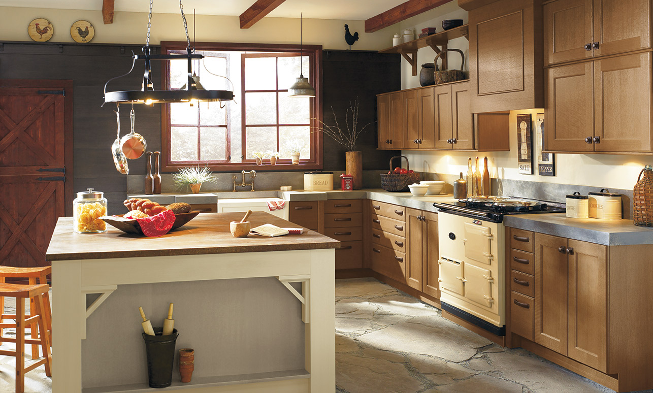 kitchen cabinets com long island with seating modern european style craft rustic