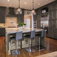 kitchen cabinet color installing flooring trends craft cabinetry lexington and regency gray cabinets