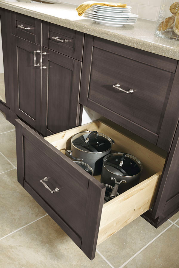 Two Drawer Base Cabinet - Kitchen Craft Cabinetry
