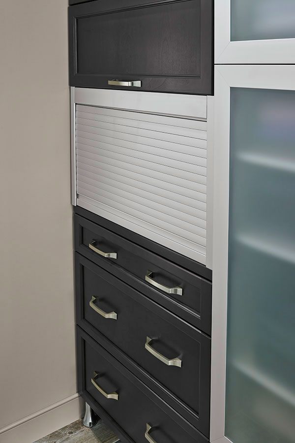 Metal Appliance Garage  Kitchen Craft Cabinetry