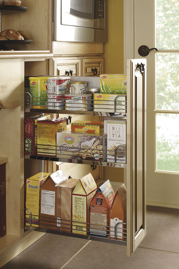 pull out kitchen cabinet touchless faucet reviews organization interiors craft base pantry