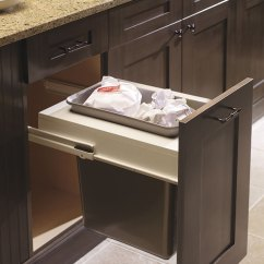 How To Buy Kitchen Cabinets Base Cabinet Organizers Wastebasket With Single Bin - Craft