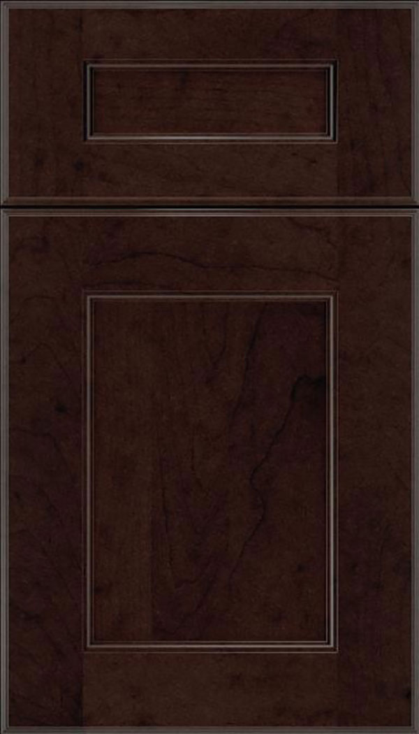 cherry wood kitchen cabinets sinks with drain boards espresso maple cabinet finish - craft cabinetry