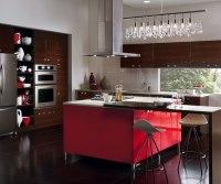 European Style Kitchen with Kitchen Island - Kitchen Craft