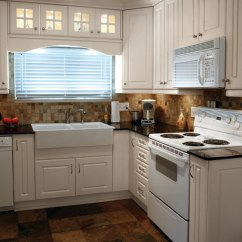 White Kitchen Wall Cabinets Chairs On Casters Thermofoil In Antique Craft Cabinetry By