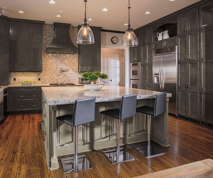 grey kitchen cabinets www ninja com casual gray craft cabinetry by