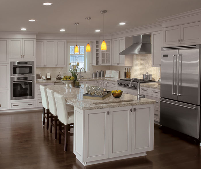 Painted Kitchen Cabinets Alabaster Finish Craft