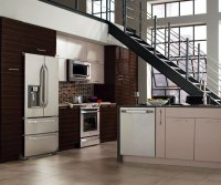 High Gloss Kitchen Cabinets in Thermofoil - Kitchen Craft