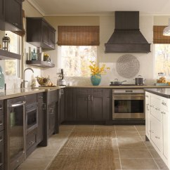 Shaker Style Kitchen Oakley Backpack Sink Cabinets In Casual Craft By Cabinetry