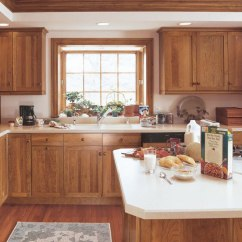 Alder Kitchen Cabinets Lighting Pendants For Islands Cherry Shaker In Rustic Craft By Cabinetry