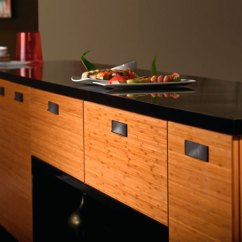 Bamboo Kitchen Cabinets Modular Outdoor Kitchens In Natural Finish Craft By Cabinetry