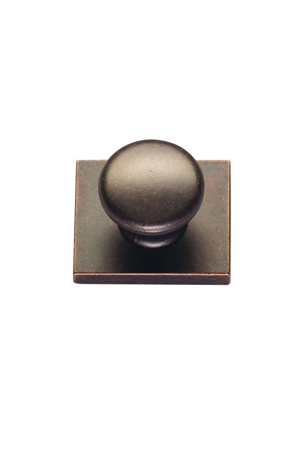 New Pioneer Cabinet Knob with Backplate  Kitchen Craft