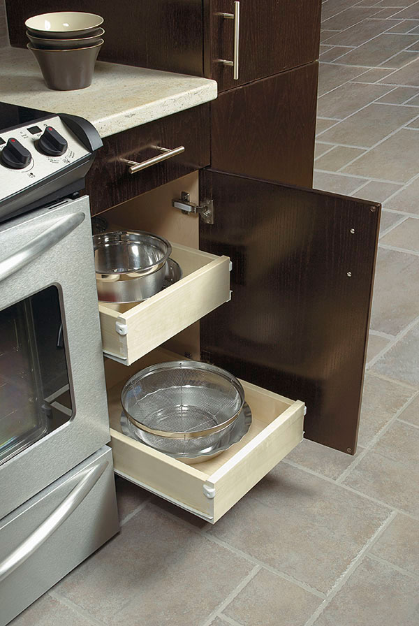 Slide Out Trays  Kitchen Craft Cabinetry