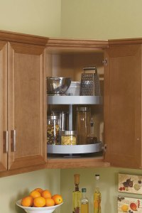 Lazy Susan Cabinet - Kitchen Craft Cabinetry