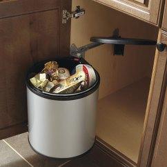 Kitchen Trash Bin Ikea Small Sink Base Cabinet With Round Waste - Craft