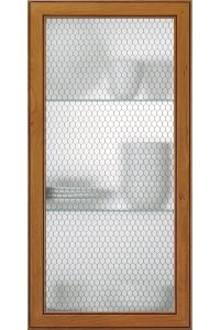 Honeycomb Wire Mesh Cabinet Door - Kitchen Craft