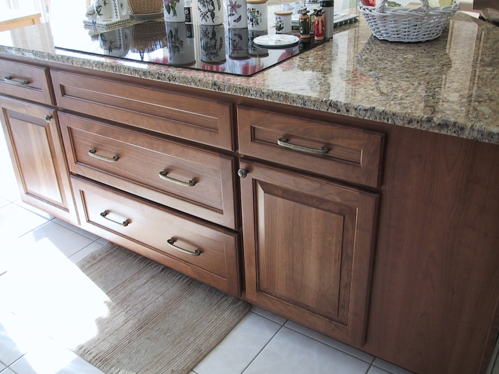 changing countertops in kitchen unfinished wall cabinets replace keep possible