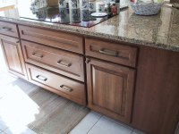replace cabinets keep countertops - possible?