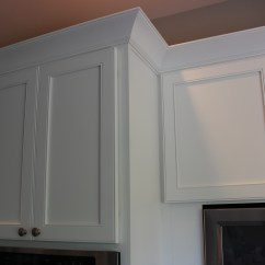 Decorative Molding Kitchen Cabinets Built In Contemporary Cabinet Crown