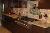 Quartz & Granite Surfacing Kitchen Countertops in Blue ...