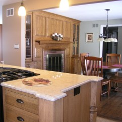 Kitchen Cabinets Ct Small Tables And Chairs Quarter Sawn Oak Island | Design Center