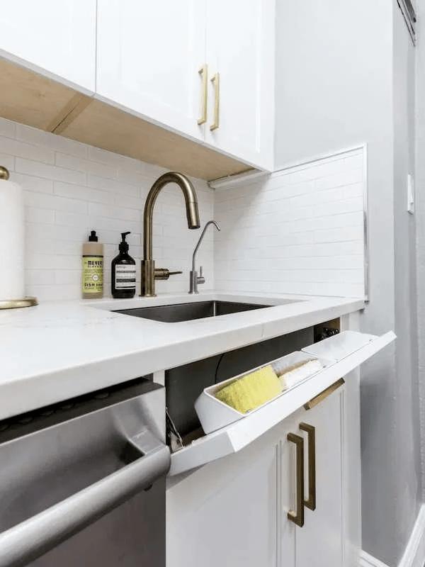 drawer wall accessories kitchen