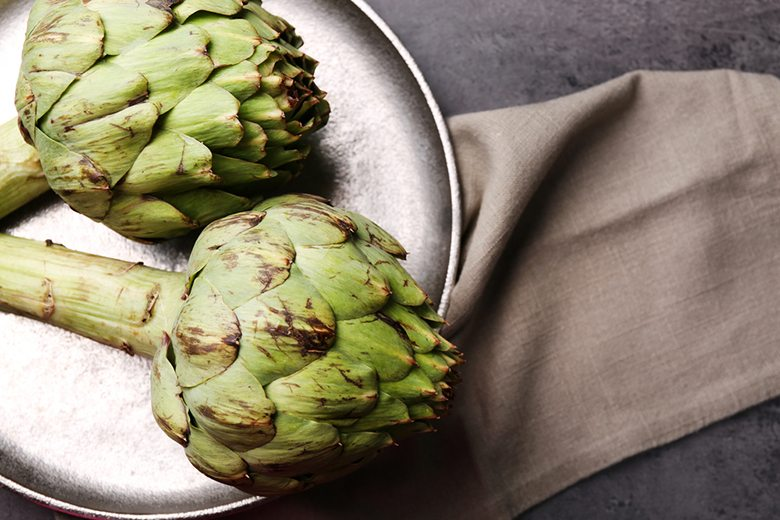 in season july artichoke