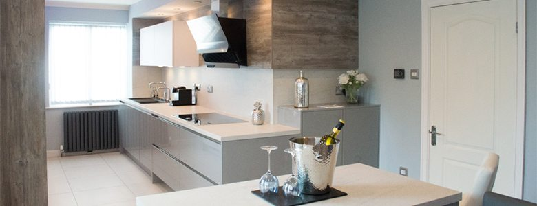Stand-out contemporary kitchen design