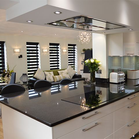A high tech, high spec kitchen