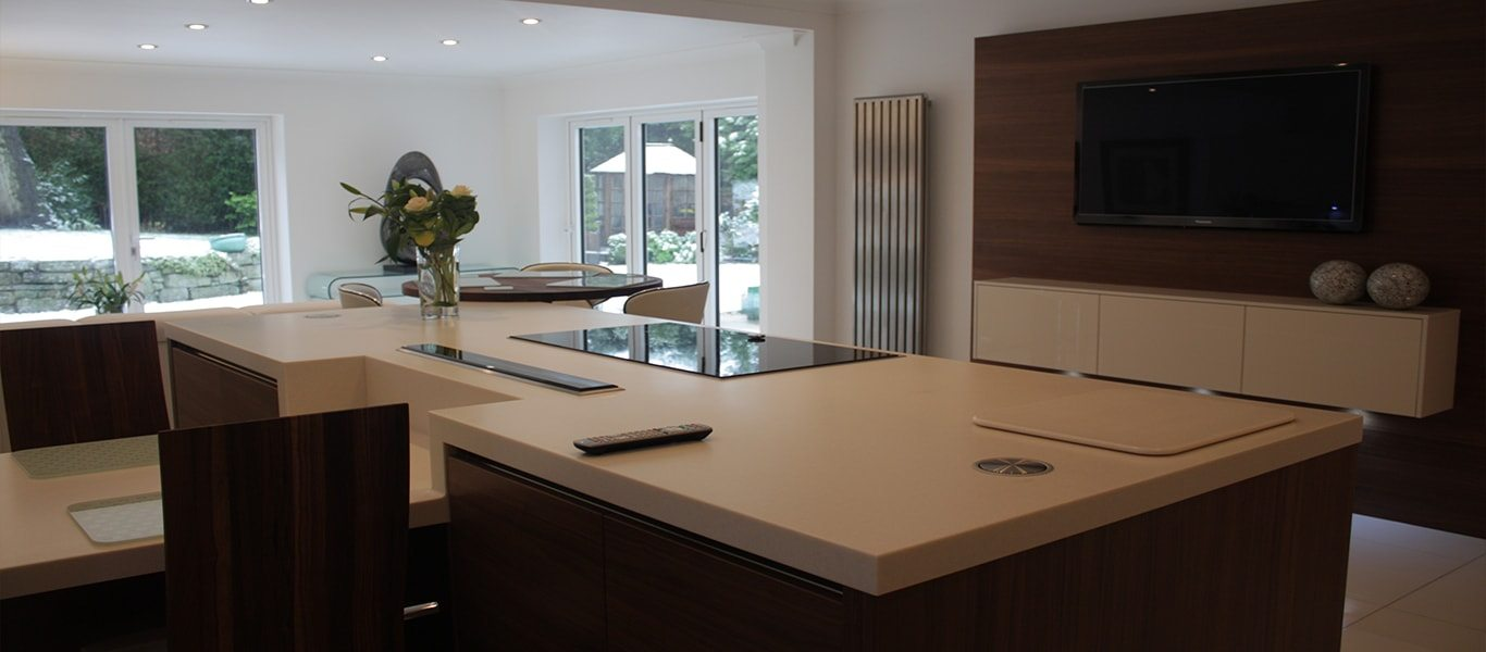 Big, bright and beautiful kitchen design in Bowdon