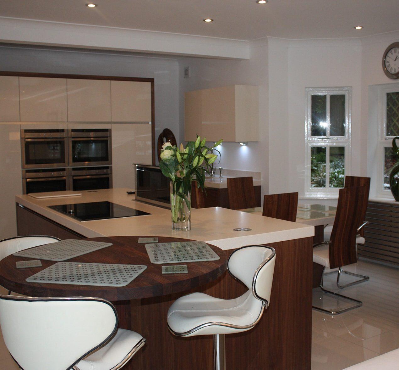 Big Bright Kitchen Design  Customer Kitchens  Kitchen