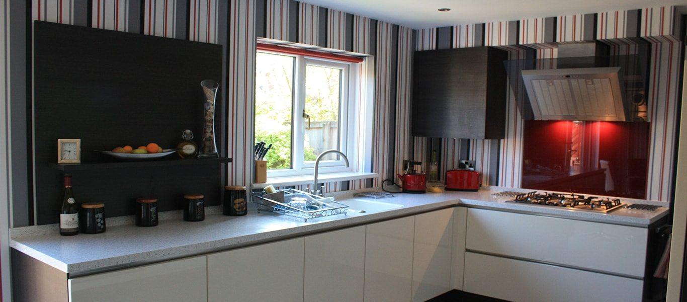 Efficient designer kitchen transformation