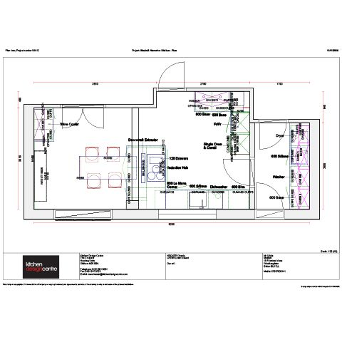 hub of the home kitchen plan