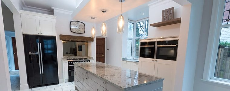 lighting makes a kitchen feel homely